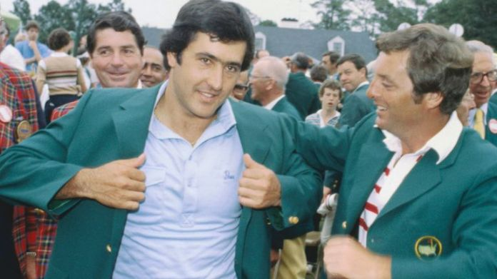 Seve Ballesteros won his first Masters and second major championship in 1980 aged 23