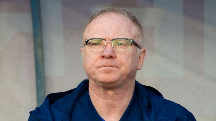 Former Scotland manager Alex McLeish