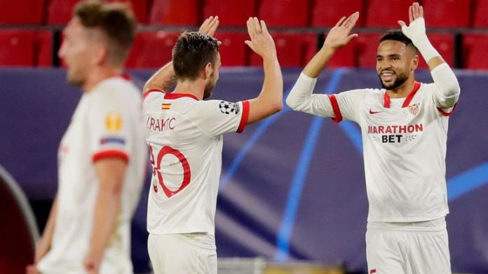 Sevilla fought back from 2-0 down for a dramatic victory