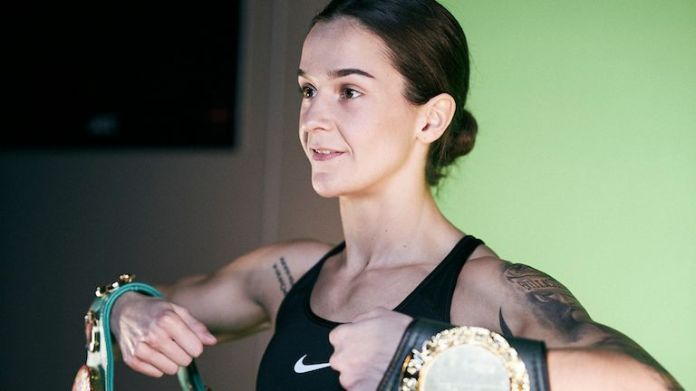 Terri Harper defends her WBC belt against Katharina Thanderz