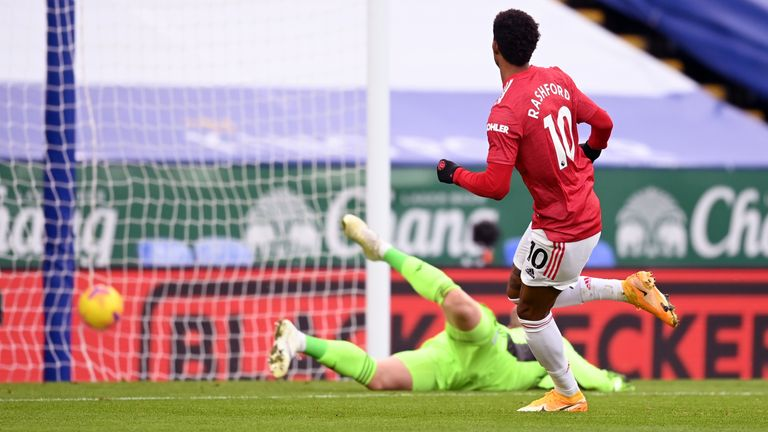 莱斯特 City 2-2 Man Utd: Axel Tuanzebe scores own goal after Bruno  Fernandes looked to have won it