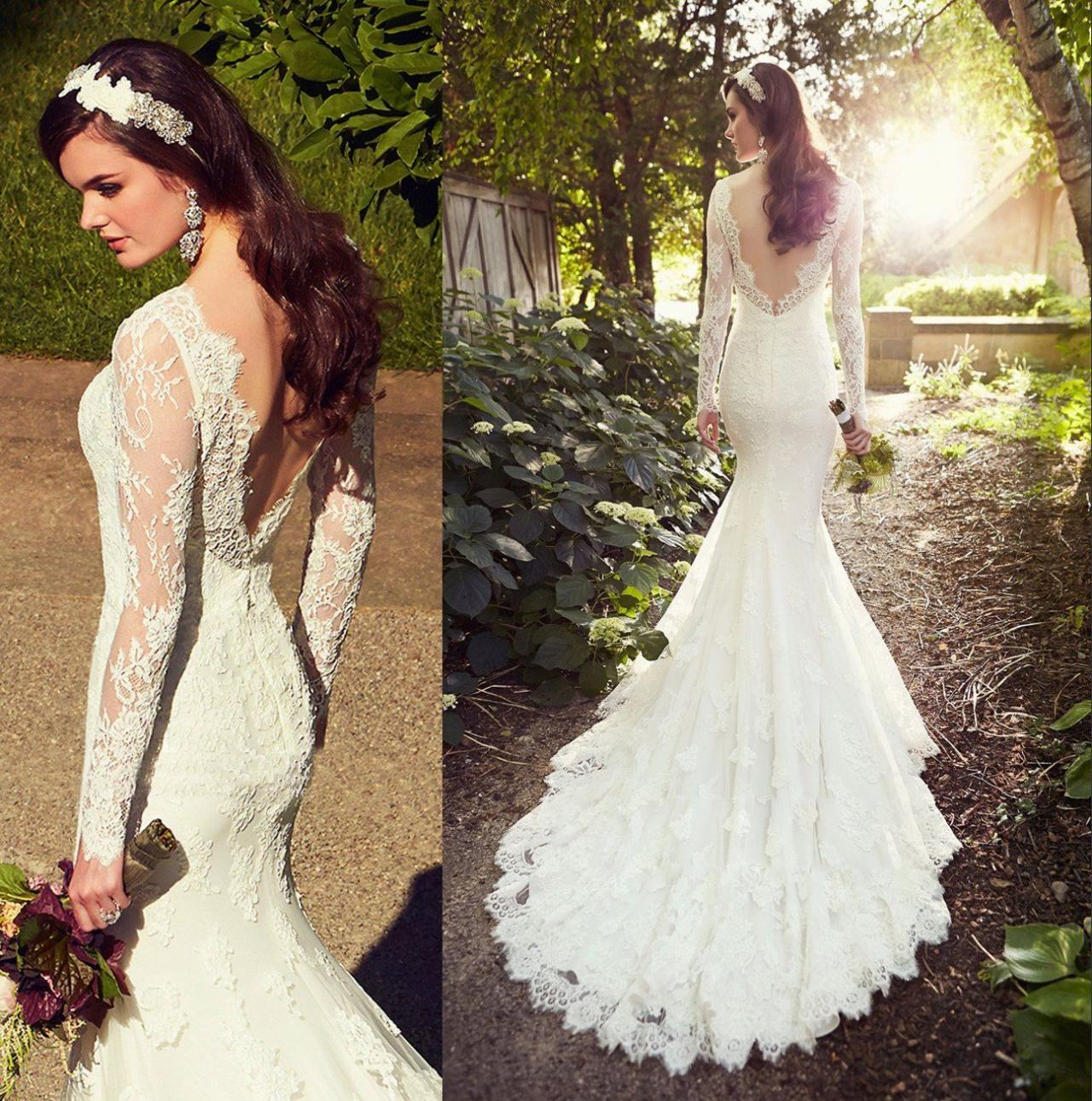 white wedding dresses long sleeves wedding gown lace wedding gowns ball gown bridal dress princess w lace sleeves wedding dress White Wedding Dresses Long Sleeves Wedding Gown Lace Wedding Gowns Ball Gown Bridal Dress Princess Wedding Dress Beautiful Brides Dress With Long Train