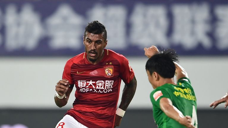 paulinho has reportedly joined barcelona two years after leaving tottenham for guangzhou evergrande