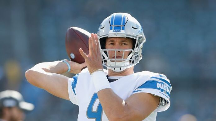 Detroit Lions quarterback Matthew Stafford returned a false positive in August