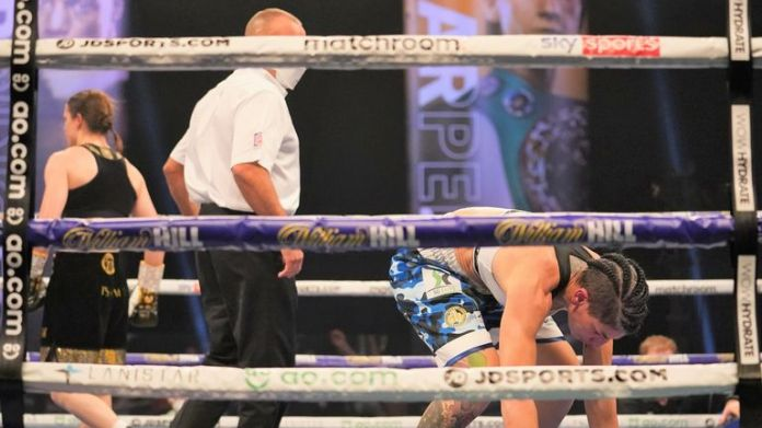 The Irish star sent the Spaniard to the canvas in the fourth round