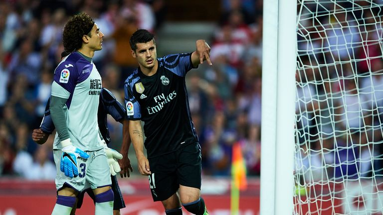 what does the future hold for real madrid striker alvaro morata