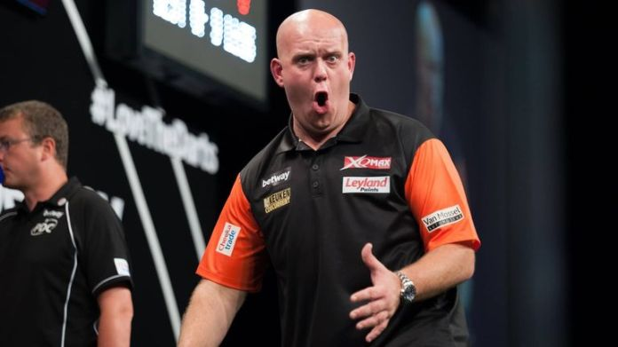 Michael van Gerwen is bidding to lift his fourth World Cup of Darts title this weekend
