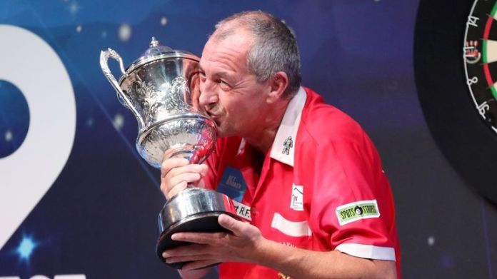 Warren became only the fourth Welshman to win the BDO Championship earlier this year
