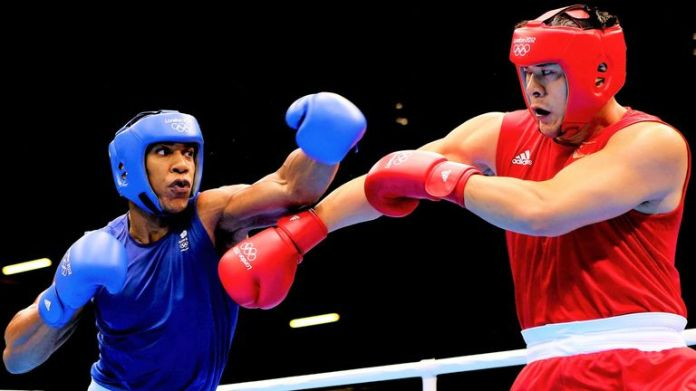Joshua beat Zhang in the 2012 Olympics