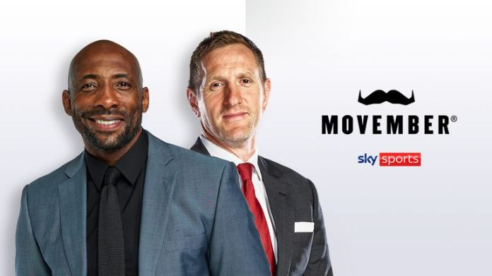 Johnny Nelson and Will greenwood are fully behind Movember