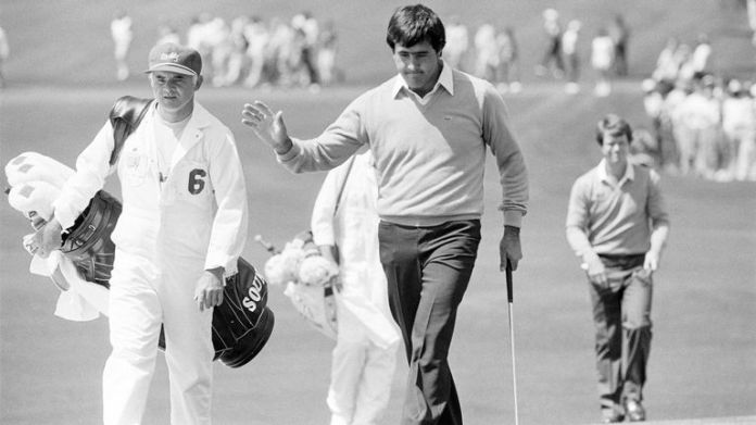 Ballesteros finished four strokes ahead of runners-up Jack Newton and Gibby Gilbert at Augusta National in 1980