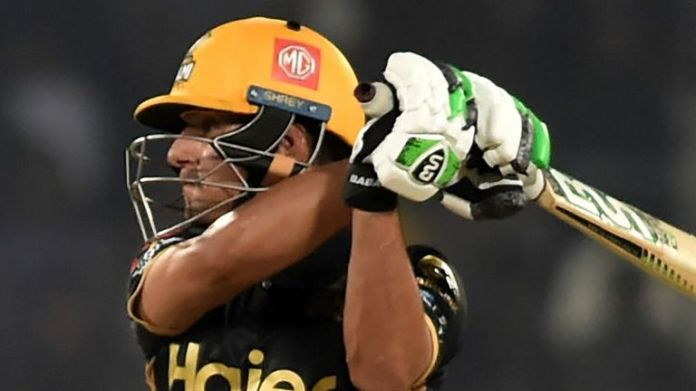 Peshawar Zalmi's Haider Ali goes on the offensive against Multan Sultans