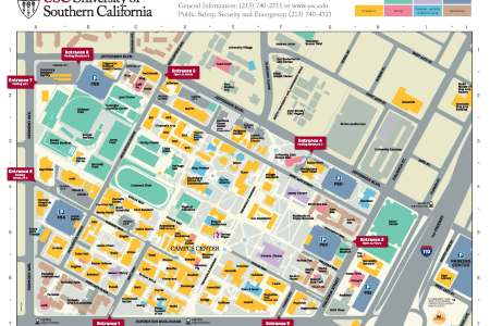 map of usc