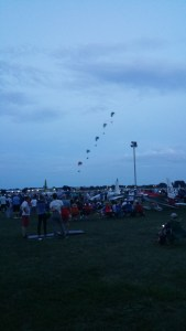 Powered paragliders