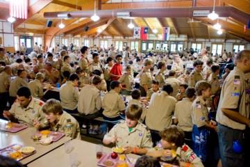 Eagle Alumni Night at Camp Friedlander