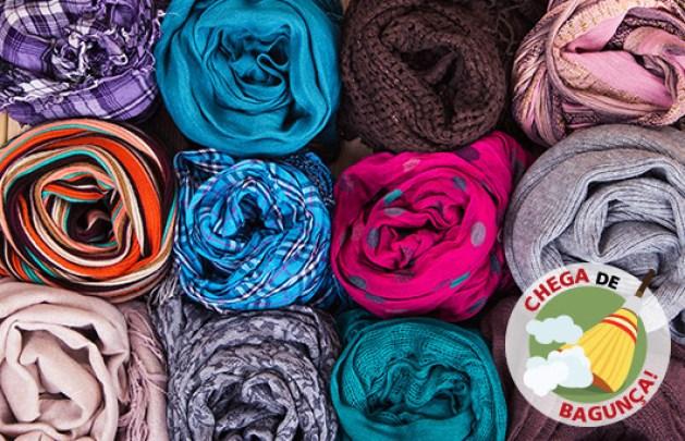 série-chega-de-bagunça-lenços-e-cachecóis-ademilar