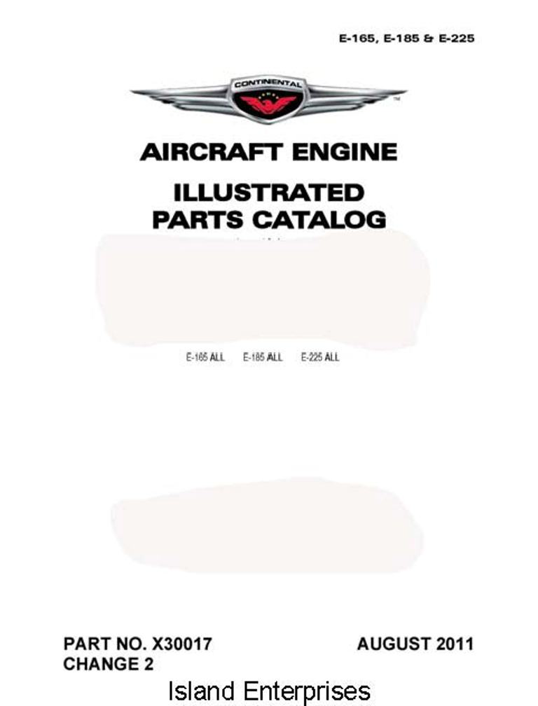 Continental Model A & c and O-200 Series Engine Operator's
