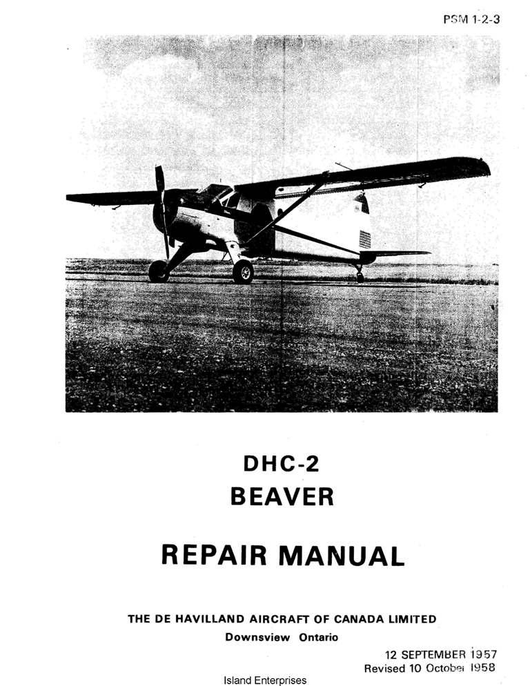 De Havilland Chipmunk Mks 20, 21, 22 and 22A Aircraft