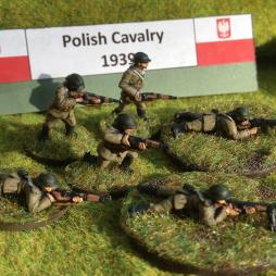 Polish Cavalry 2nd section dismounted