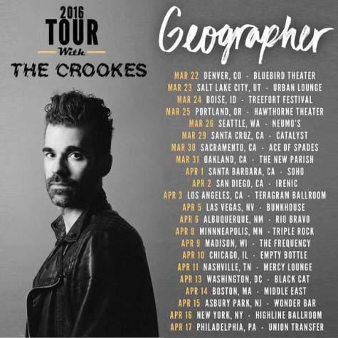 geographer tour dates 2016