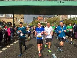 Hamburg Marathon Womens Race Sonne