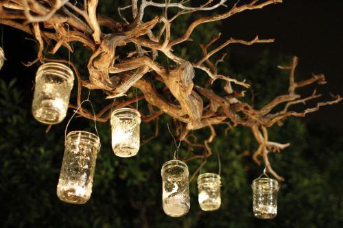 Medium Of Mason Jar Lighting