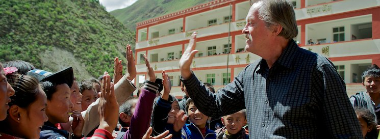 Tibet School Hi-Fives