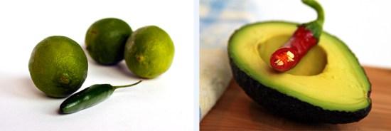 Limes and Avocado