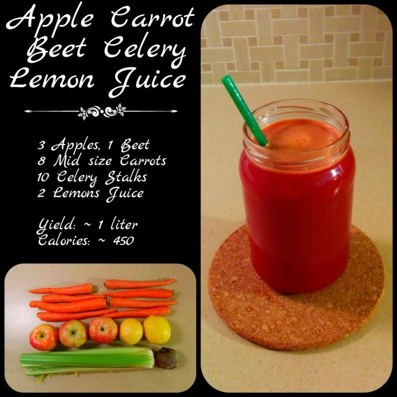 Large Of Celery Juice Recipe