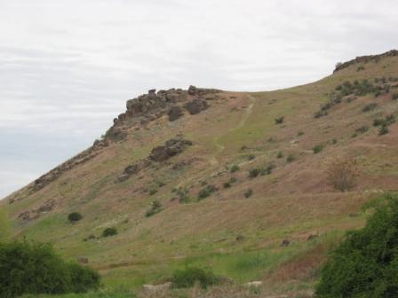 Rehab Work is Evident on Castle Rock 06/01/2011