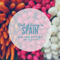 Cost of living in Malaga, Spain: July 2015