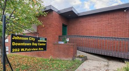 The Johnson City Downtown Day Center recently received a $1 million federal grant. (Photography courteous of ETSU)