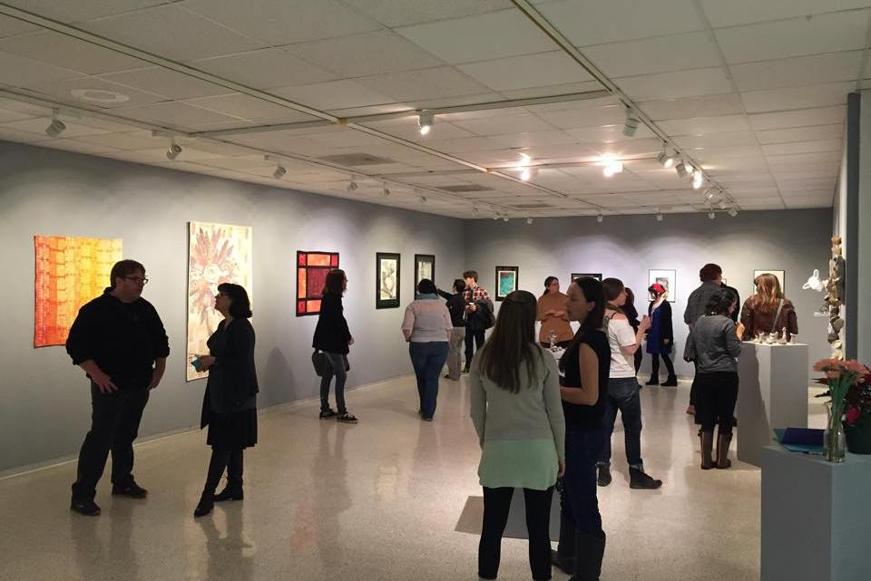 The Slocumb Galleries in Ball Hall and Tipton Gallery in downtown Johnson City host exhibitions that allow art students at ETSU to see what being a professional artist is like. (Photograph Courtesy of Slocumb Gallery)