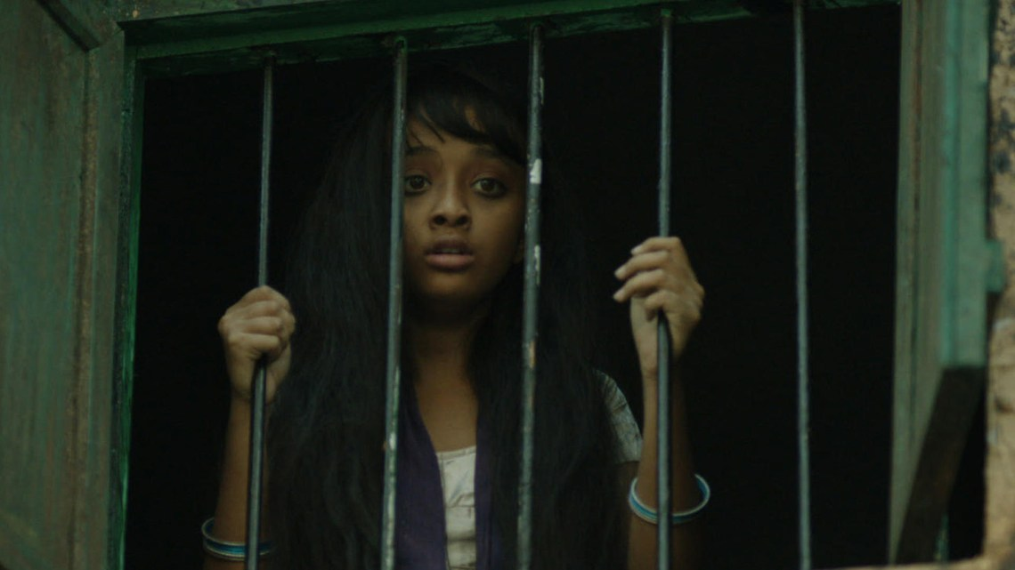 """""""Sold,"""" a novel about human trafficking, follows a 13-year-old girl as she tries to escape from the cruelties that she faces every day in an Indian brothel after her parents were tricked into selling her. (Photograph Courtesy of www.pathstark.com)"""