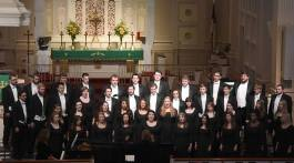ETSU Chorale will unite with Bucsworth Men's Choir, East Tennessee Belles and Greyscale for the ultimate holiday choral concert (Photograph by ETSU Chorale).