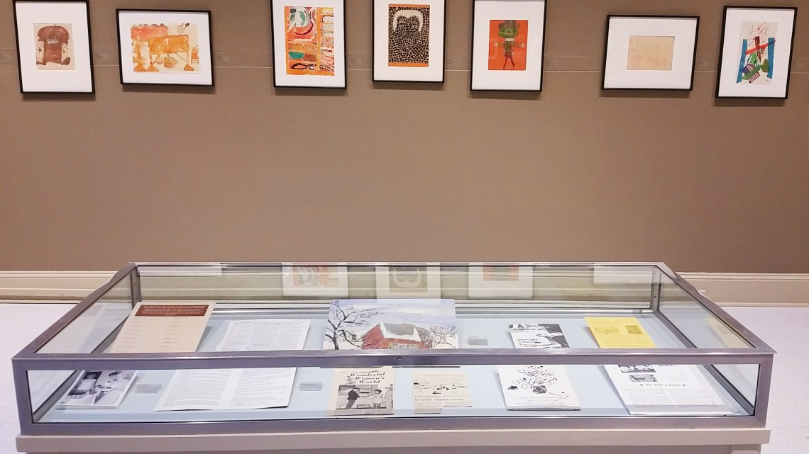 Art by the Exceptional Child is on display from December 16 through February 9. (Photograph by Heath Owens)