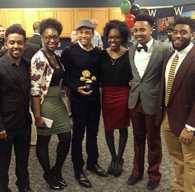 The executive members of Black Affairs.