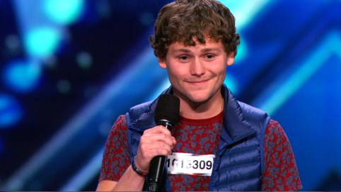 """Drew Lynch made his claim to fame as a contestant on the most recent season of """"America's Got Talent."""" (Contributed)"""
