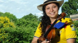 Ecuadorian student Denise Chavez Reyes graduated from ETSU in May of 2016 with her Bachelor's degree and will return as a graduate student in the fall. (Photograph Contributed)