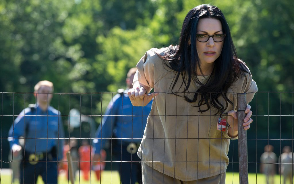 Laura Prepon returns in season 4 of Orange is the New Black, one of this summer's most binge-worthy shows. (Contributed)