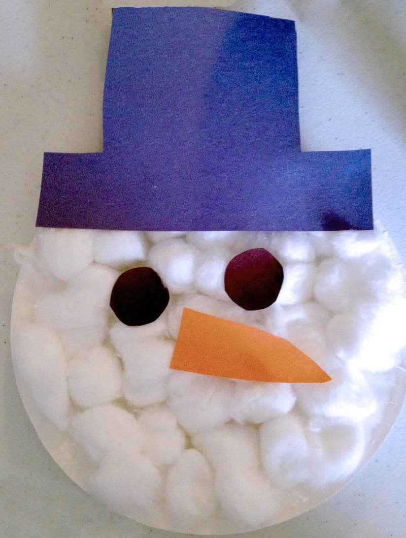 Do you wanna build a snowman snowman craft for kids for Snowman faces for crafts