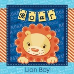 Jungle lion boy baby shower theme