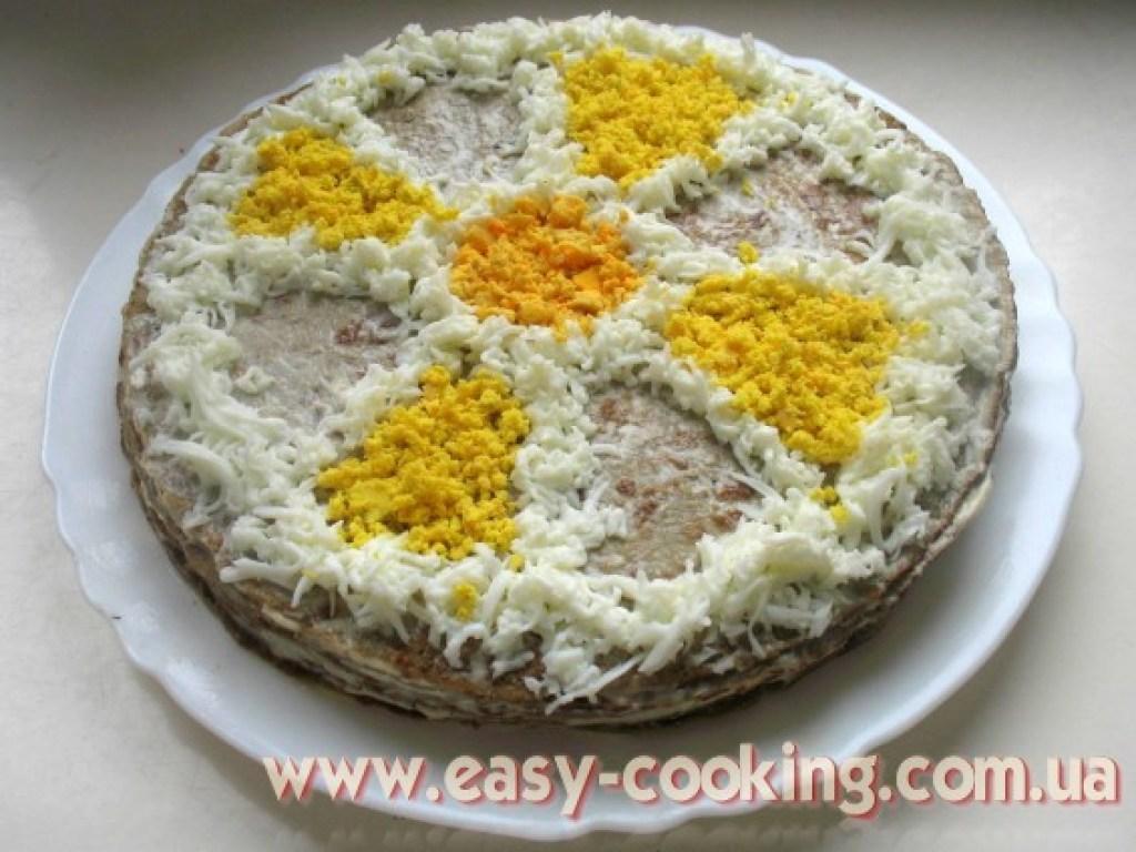 Рецепт торта печінкового