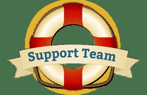Hier erreichst Du unser Support-Team