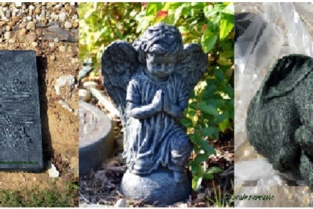 How To Paint Your Own Garden Figurines and Décor