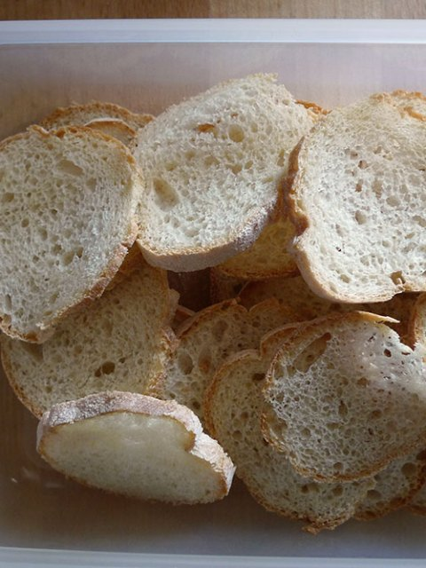 Stale bread? Dry it, give it a fancy name.