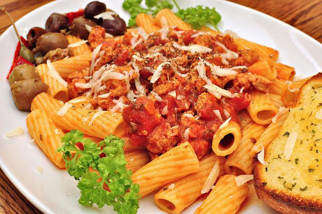 Italian Rigatoni with Cheese and Sausage Recipe