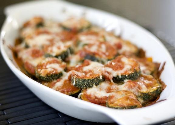 Layered Zucchini Parmesan recipe photo
