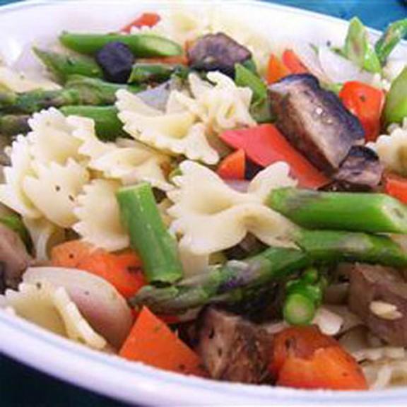 Roasted Veggie Pasta recipe photo