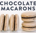 Italian Chocolate Macarons Recipe (VIDEO)